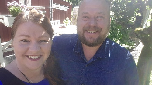 Maria och Leif Johanskog Skogsro Spa